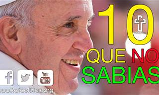 10 Cosas Que No Sabías Del Papa Francisco