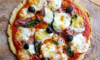 ¿Intolerante Al Gluten? ¡Disfruta De Esta Deliciosa Pizza!