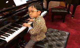 Increíble Interpretación De Piano a Cargo De Este Niño