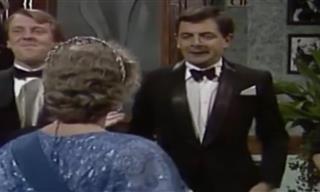 El Clásico Momento Cuando Mr. Bean Conoció a La Reina