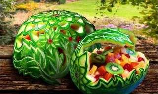 ¡El Increíble Arte De La Comida!