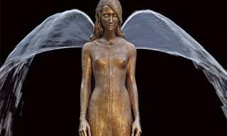 Esculturas De Bronce Que Cobran Vida Con Agua