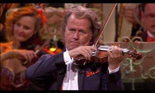 Memorable Actuación De Un Violinista Único