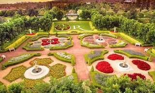 ¡Recorre Los Jardines Más Coloridos Del Mundo!