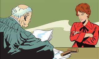 Chiste: La Demanda De Divorcio