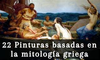 22 Pinturas Que Dieron Vida a Los Mitos y Leyendas Griegas
