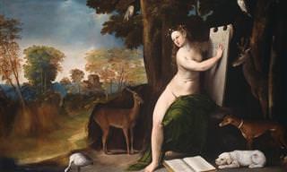Mitología Griega-Romana Representadas En Pinturas