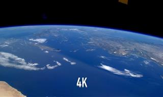 El Planeta Tierra Desde La Estación Espacial Internacional