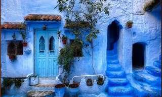 La Belleza De Chauen, La Ciudad Azul