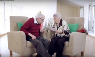 ¿Te Imaginas Una Cita a Ciegas Entre Abuelos?