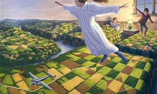 Estas Pinturas Surrealistas Confundirán Tu Mente