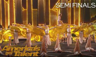 Impresionante Danza Del Antiguo Egipto En Got Talent