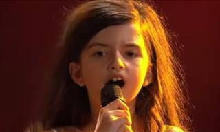 No Podía Creer Que Esta Voz Provenía De Una Niña De 8 Años