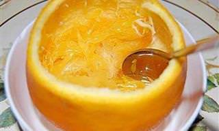 Remedio Para La Tos: Naranja Al Vapor Con Sal