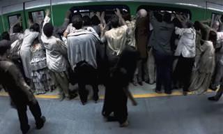 Una Broma En El Metro Aterradora Como Ninguna Otra ...