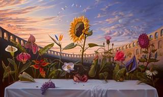 Las Deslumbrantes Pinturas Surrealistas De Vladimir Kush
