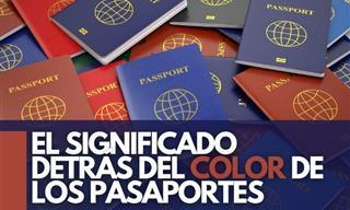 El Sorprendente Significado De Los Colores Del Pasaporte