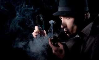 Rubias En Un Examen De Detective