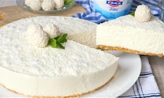 Tarta Fría De Yogur y Coco: La Tarta Del Verano