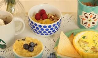 Desayunos Dulces y Salados En Un Minuto