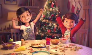 Hermoso Cortometraje Animado De Navidad