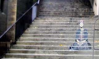 ¡Fascinantes Obras De Arte En Escaleras Urbanas!