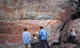 Impresionantes Pinturas Rupestres Encontradas En El Amazonas