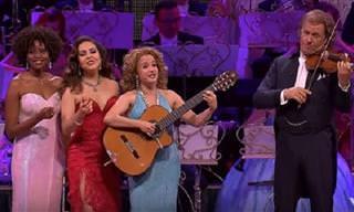 """André Rieu Interpreta La Hermosa """"Manhã de Carnaval"""""""