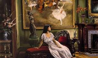 Majestuosas Pinturas De Escenarios Interiores