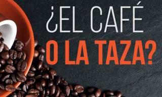 Una Verdadera Historia Hermosa: ¿El Café o La Taza?