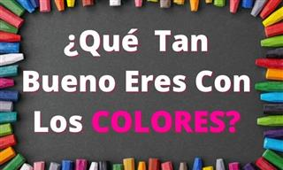 Test: ¿Qué Tan Bueno Eres Con Los Colores?