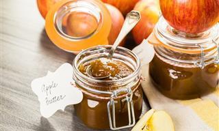 Prepara Una Deliciosa Mantequilla De Manzana Casera