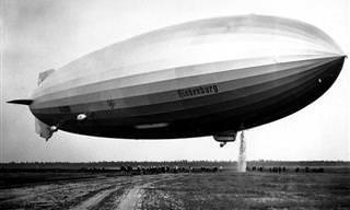 Estas Fotos del Graf Zeppelin y El Hindenburg Abren Una Ventana Al Pasado