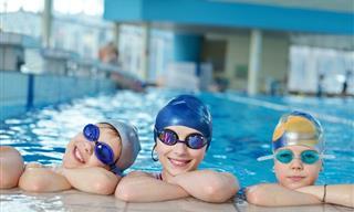 Consejos Para Mantener a Los Niños Libres De Virus Al Nadar