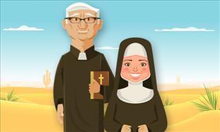 Chiste: La Monja Que Se Levantó Del Lado Equivocado