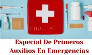 Una Recopilación De Artículos Sobre Los Primeros Auxilios En Emergencias