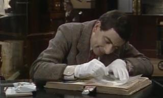 Estos Sucede Cuando Mr. Bean Va a Estudiar a La Biblioteca