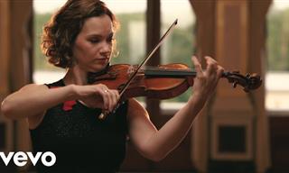 Magnífica Interpretación De Bach De La Violinista Hilary Hahn