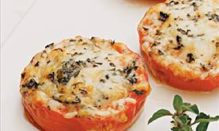 Sabrosos Tomates Al Horno Con Parmesano