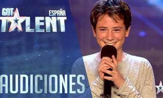 Niño De 12 Años Conquista Al Jurado De Got Talent España