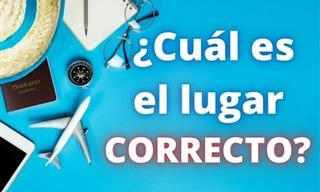 Test De Geografía: ¿Qué Foto Es La Correcta?