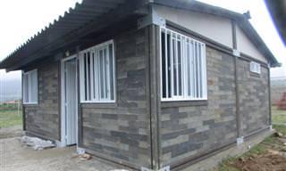 Firma Colombiana Crea Casas Económicas Con Plásticos Reciclados