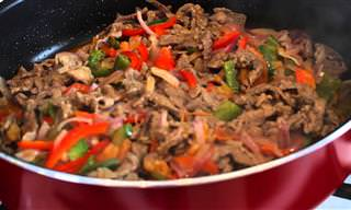 Sabrosos Tacos Rellenos De Carne Para Toda La Familia