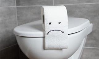 Los Riesgos De Poner Papel Higiénico En La Taza Del Inodoro