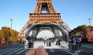 15 Fotografías Que Retratan El Antes y Después De La Ciudad De París