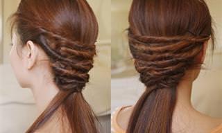 16 Tutoriales De Peinados Hermosos y Fáciles De Realizar