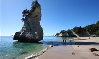 Mapa Interactivo: 12 Hermosos Paisajes De Nueva Zelanda