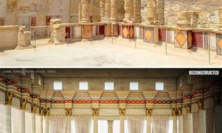 7 Reconstrucciones Digitales De Antiguas Ruinas