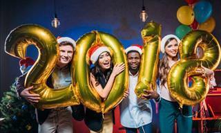 ¡FELIZ AÑO! Por Un 2018 Lleno De Dicha y Buena Fortuna