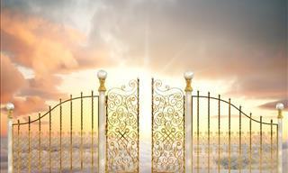 Chiste: Llegando a La Puerta Del Cielo Con San Pedro